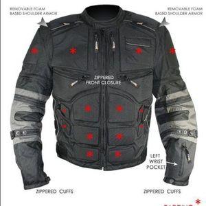 Xelement CF5050 cordura armored jacket